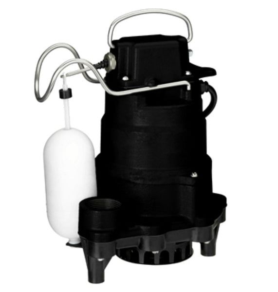 Pentair Water 235820 Master Plumber Submersible Sump Pump, Cast Iron