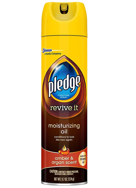 Pledge 00037 Revive It Moisturizing Oil, 9.7 Oz