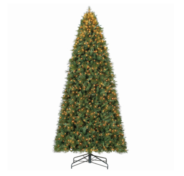 Polygroup TG90P4386C03 Stratford Quick Set Pine Christmas Tree, 9 feet
