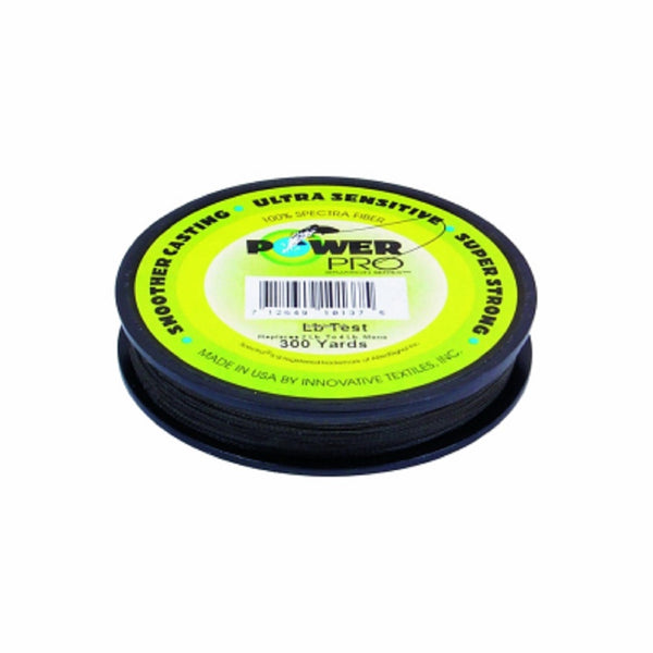 Power Pro 1253-0109 Spectra Braided Fishing Line, Green, 300Yd