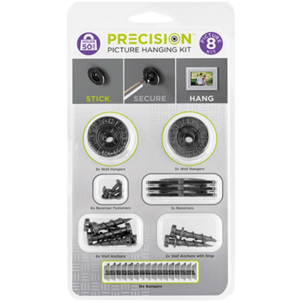 Precision PRECISION-8K 8 Picture Hanging Kit