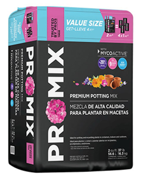 Premier Horticulture 0305RG Pro Mix Premium Potting Mix, 2.0 Cu. Ft
