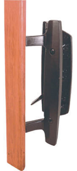 Prime Line 142268 Wood Sliding Glass Door Pull, Black