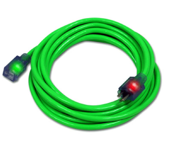 Pro Glo D17444025 Extension Cord, Green