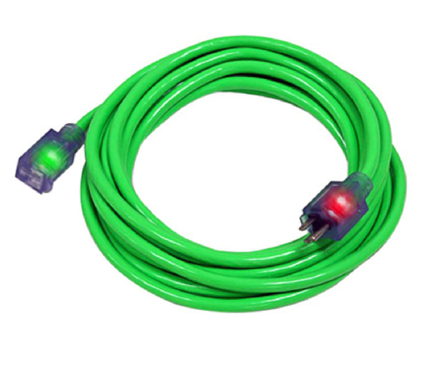 Pro Glo D17334100 Extension Cord, Green
