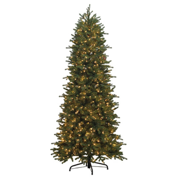 Puleo 114-AIGSL-75LW3K9-TV Artificial Fir Christmas Tree, 7.5 Feet