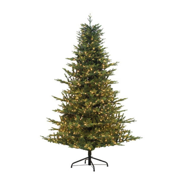 Puleo 114-DLG-75FLW3K10 Artificial Fir Christmas Tree, 7.5 Feet