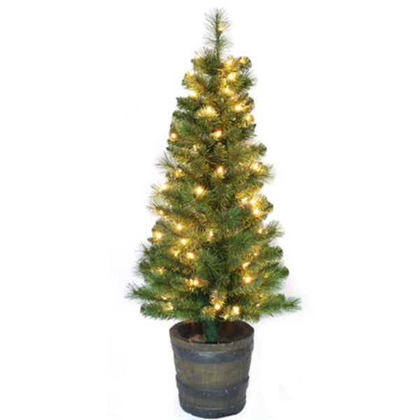 Puleo 301-PT0867-40C07 Entry Way Artificial Christmas Tree, 48 Inch