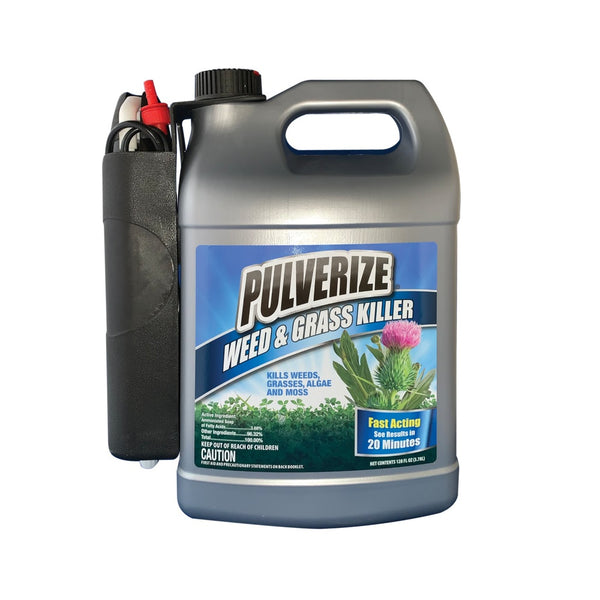 Pulverize PWG-B-128-S Weed and Grass Killer, 1 Gallon