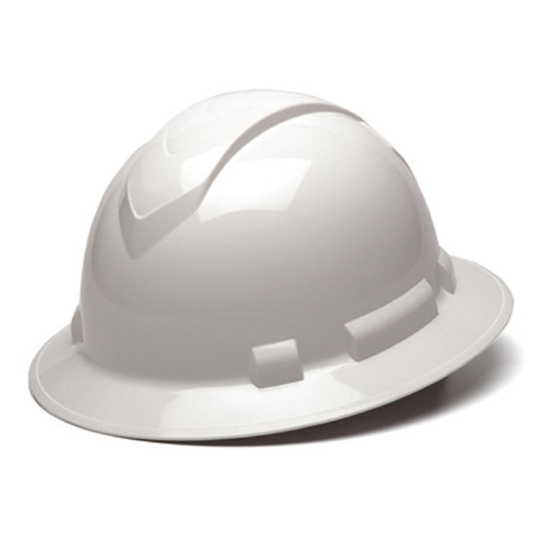 Pyramex HP54110 Full Brim Hard Hat, White