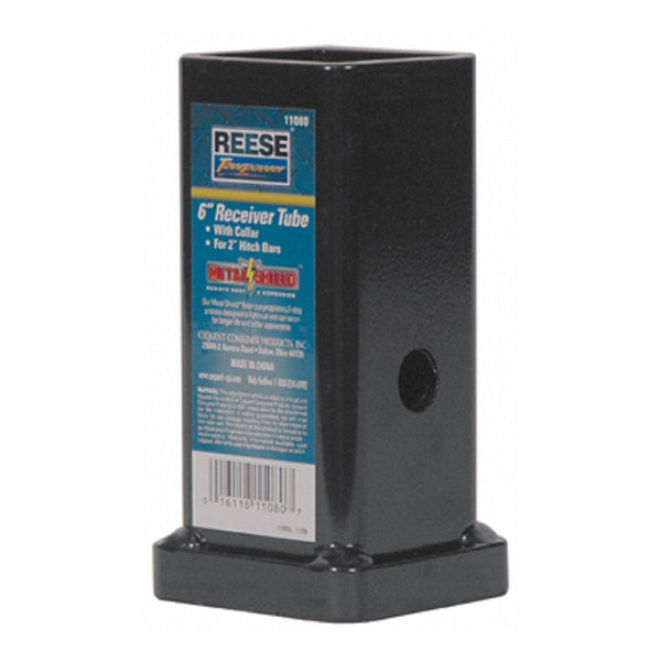 Reese Towpower 11080 Receiver Tube With Collar