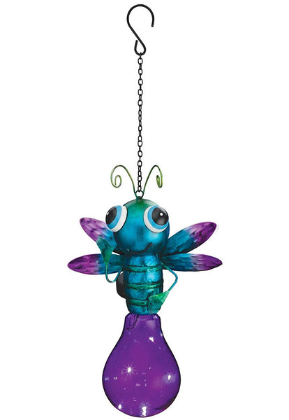 Regal Art & Gift 11256 Solar Firefly Lantern, Purple