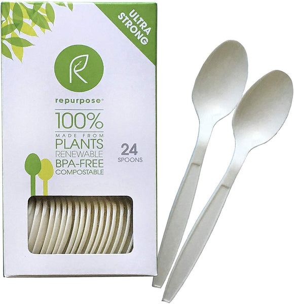 Repurpose RPR.UTS.4.MP20 Compostable High Heat Spoons