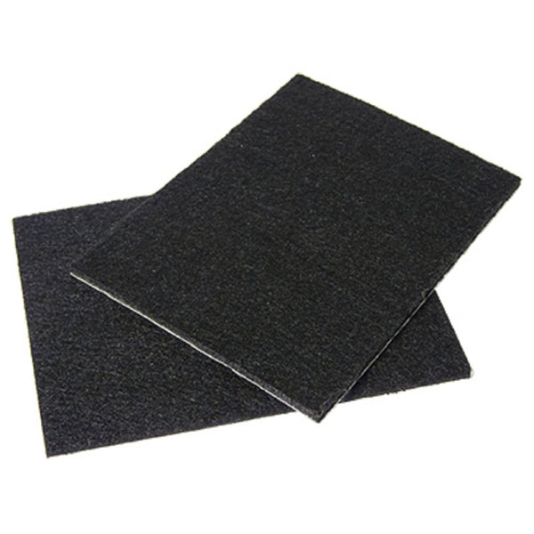 Richelieu 93500tv Truguard Self Adhesive Felt Pads Black