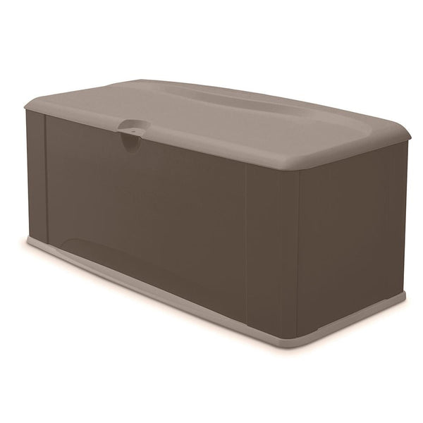 Rubbermaid 2047052 Deck Box With Seat, 120 Gallon Capacity