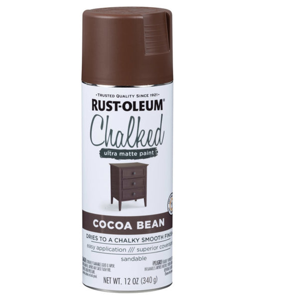 Rust-Oleum 329194 Chalked Ultra Matte Spray Paint, 12 Oz