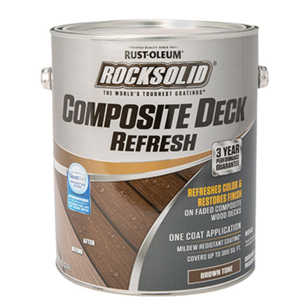 Rust-Oleum 350060 RockSolid Composite Deck Refresh, 1 Gallon