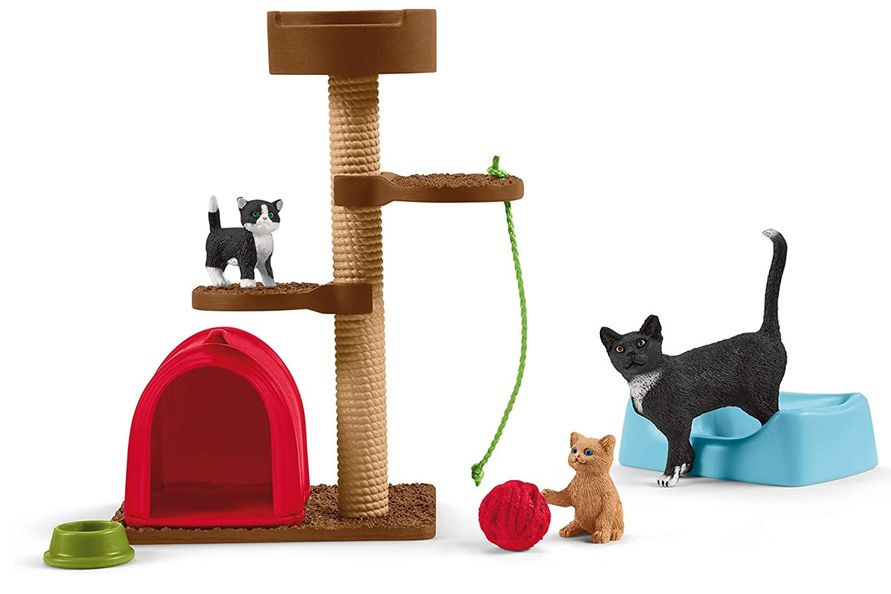 Schleich 42501 Farm World Playtime For Cute Cats