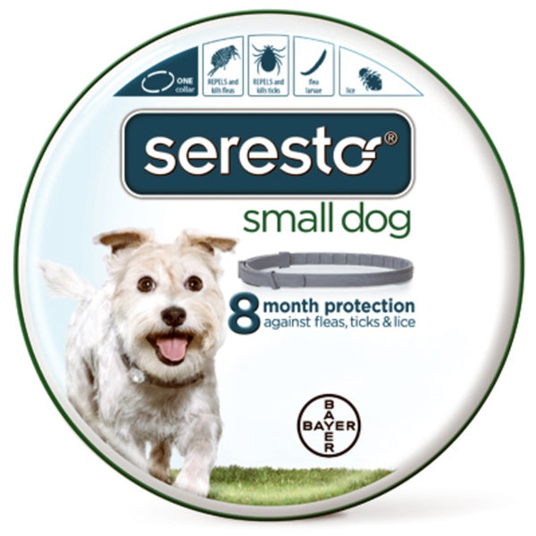 Seresto 81857944 Adjustable Small Dog Flea & Tick Collar
