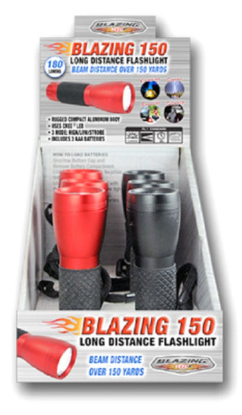 Shawshank Ledz 900223 Blazing 150 Long Distance Flashlight