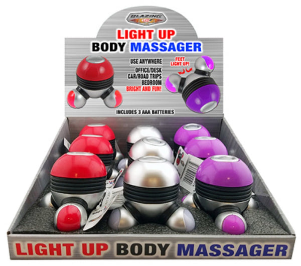 Shawshank Ledz 702419 Light Up Body Massager