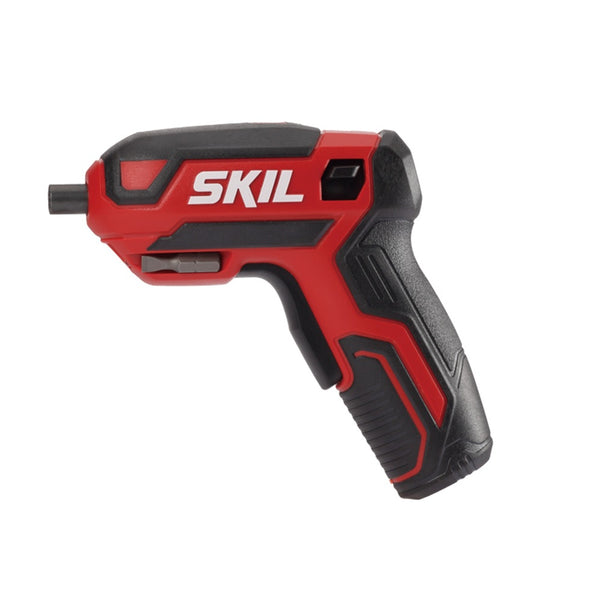 Skil SD561801 Cordless Rechargeable Screwdriver Kit, 4 Volt