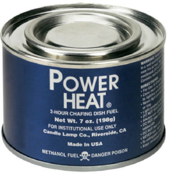 Sterno 20660 Power Heat Fuel Chafing Dish Fuel, 7 Ounce