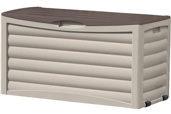 Suncast DB8300 Large Patio Storage Box, 83 Gallon