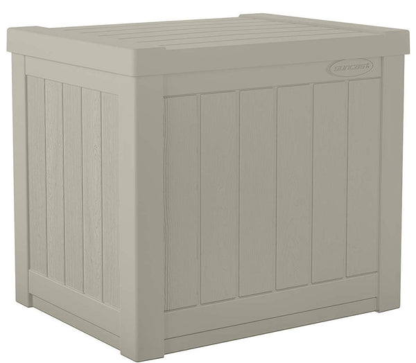 Suncast SS500 Small Deck Box, 22 Gallon