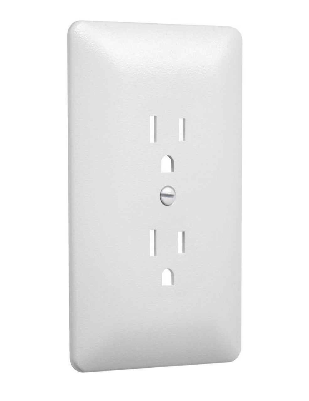 Taymac MW2000W Masque 2000 1-Gang Duplex Wall Plate Cover, White