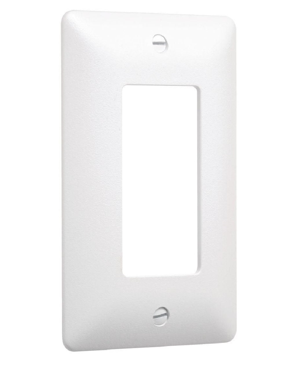Taymac 5000W Paintable 1 Gang Masque Wall Plate Cover, White
