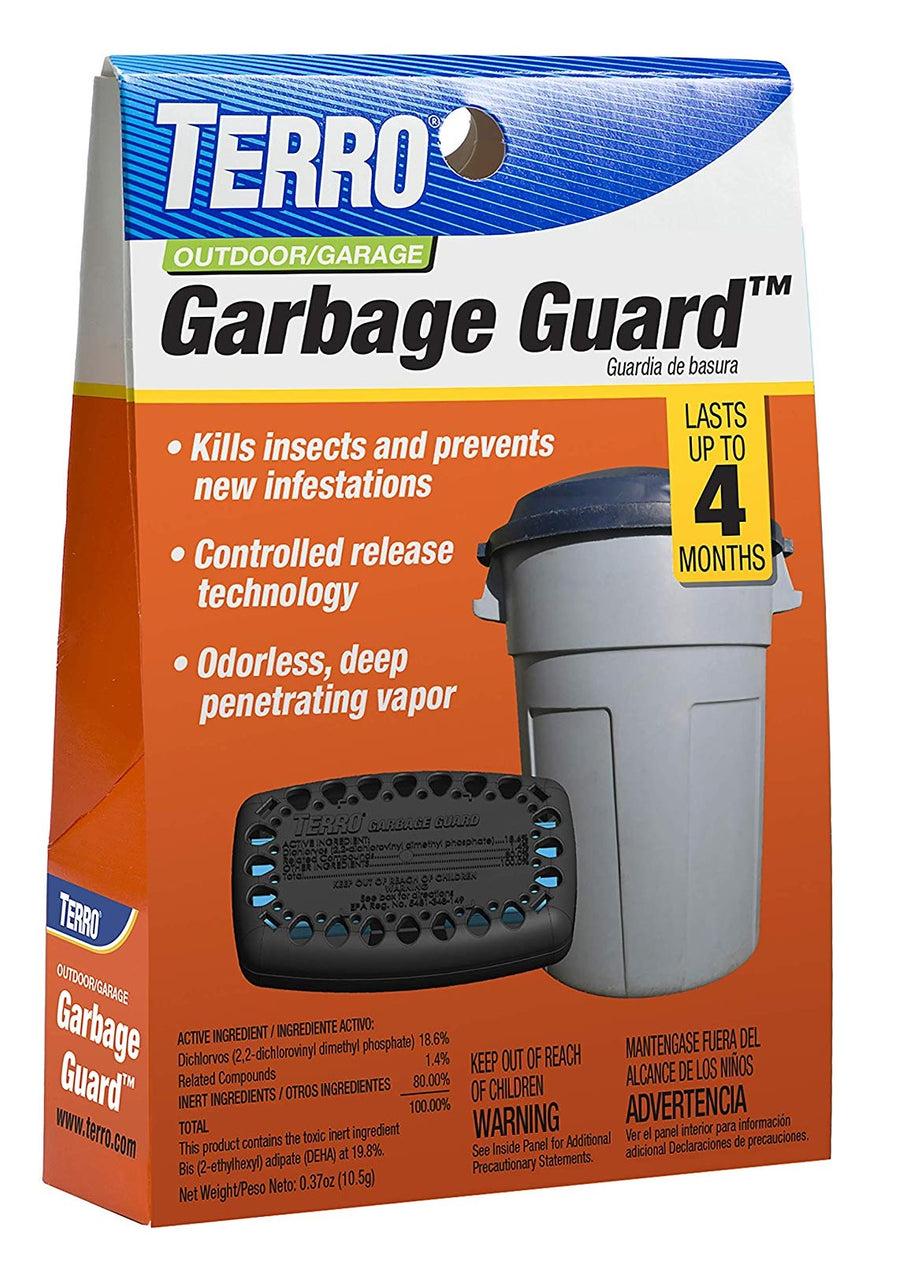 Terro T800 Garbage Guard Trash Can Insect Killer, Deep Penetrating Vapor