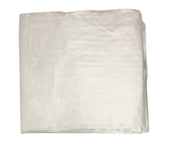 Thermwell Plastics P300 Clear Plastic Poly Roll High Density Drop Cloth