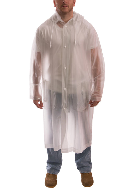 Tingley C61210.2X Tuff-Enuff Clear Coat Raincoat, 2XL