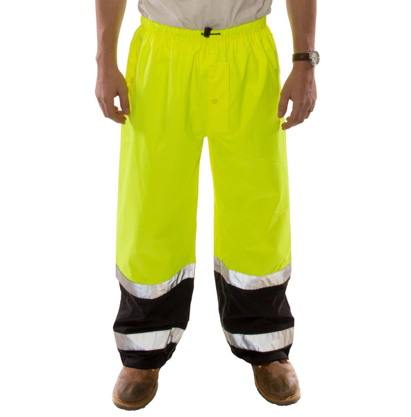 Tingley P27122.2X Icon LTE Lightweight Breathable High Visibility Pants, 2XL
