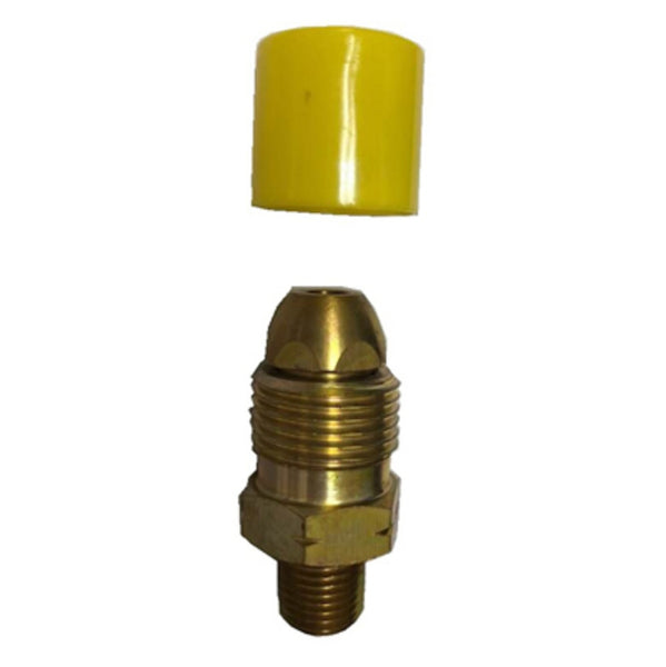 Us Hardware G-110C Propane Adapter, Brass