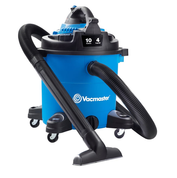Vacmaster VBVA1010PF Wet/Dry Vacuum with Detachable Blower, 10 Gallon, 4 HP