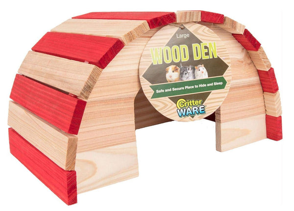 Ware Manufacturing 13120 Wood Den Hideout, Large