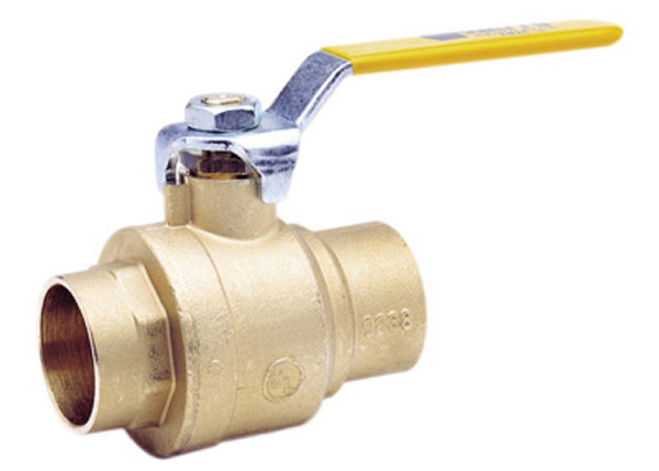 Watts 3/4 LFFBVS-3C-M1 Lead Free Brass Ball Valve, 3/4 Inch
