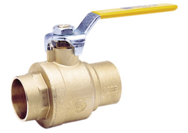 Watts 1/2 LFFBVS-3C-M1 Lead Free Brass Ball Valve, 1/2 Inch