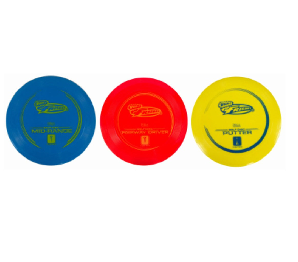 Wham-O 54020 Frisbee Golf Disc, 3 Piece