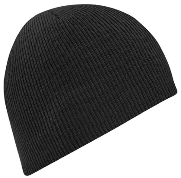 Wigwam F4146-052 OS Fitting Beanie Acrylic Cap, One Size Fits All, Black