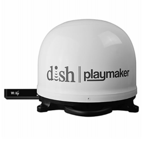 Winegard WGDPL7000R DISH Playmaker Portable Satellite Antenna with DISH Wally Receiver Bundle