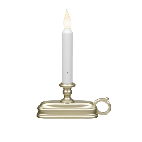 Xodus Innovations FPC1325P Flameless Flickering Christmas Candle, Pewter