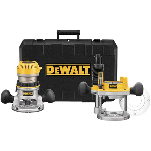DeWalt DW618PK Router Combo Kit, 2-1/4hp