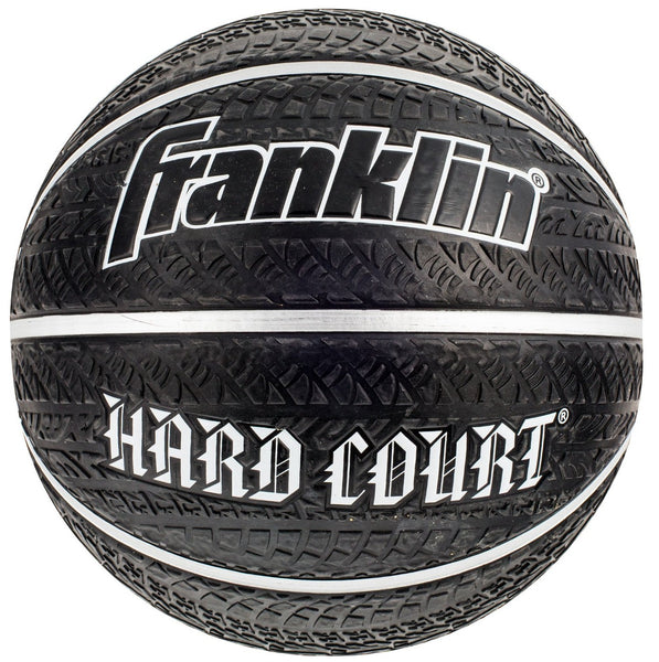 Franklin 32004 Hard Court Basketball, Rubber, Black