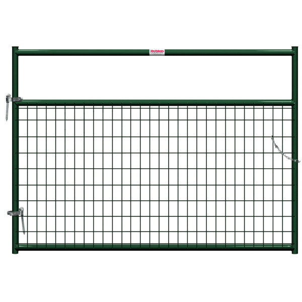 Behlen 40132062 Wire-Filled Gate, Green, 6'