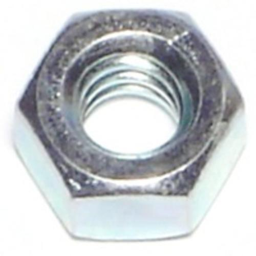 Midwest Products 03679 Hex Nut, 1-8, Zinc Plated, Pack-10