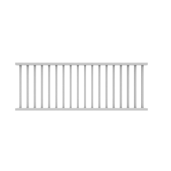 Xpanse 73012424 Select Rail Kit With Square Balusters, 8' x 36""