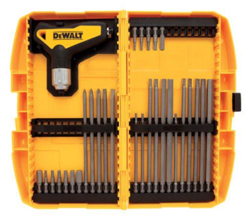 Dewalt DWHT70265 31 Piece T Handle Ratcheting Hex Key Set